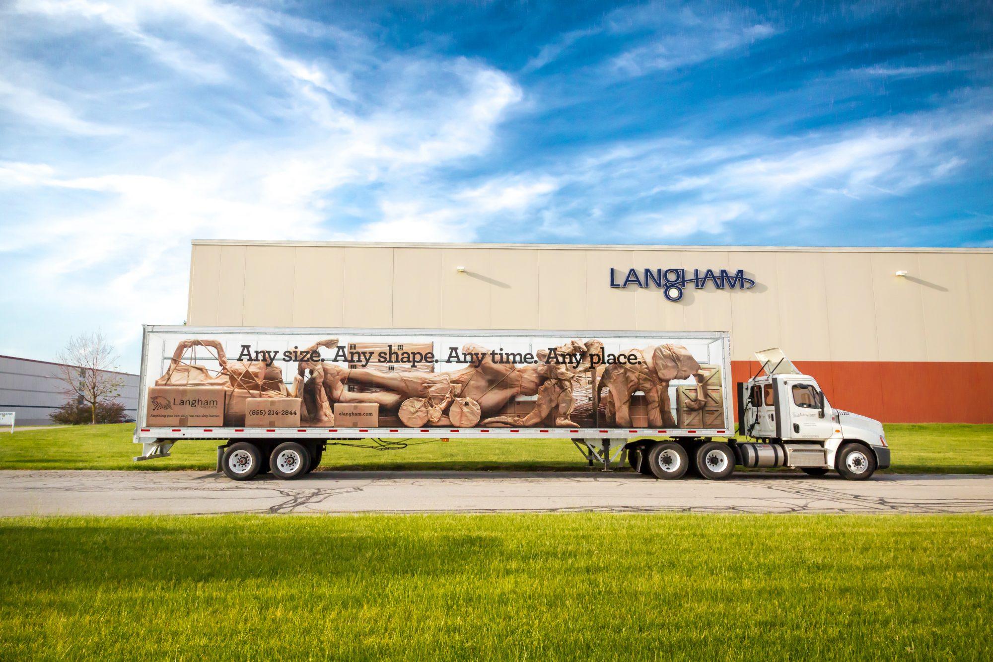 langham logistics freight truck